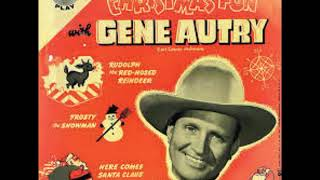Gene autry, the pinafores, carl cotner's orch. rudolph, red-nosed reindeer 1955 christmas fun with autry