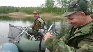 Рибалка в Естонії. 3 килло лящів на озері Панкюла.