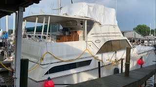 Twin 671 Detroit diesel TIB boat (full video) 1st start