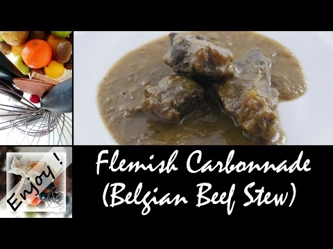 Flemish Carbonnade (Belgian Beef Stew), the easy recipe