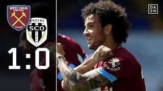 Sieg mit Neuzugang Felipe Anderson: West Ham - Angers 1:0   Highlights   Testspiele