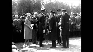 Stabelafløbning og indvielse af mindesmærke for faldne søfolk under 1. Verdenskrig