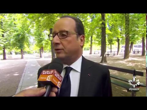 Dernière interview de François Hollande