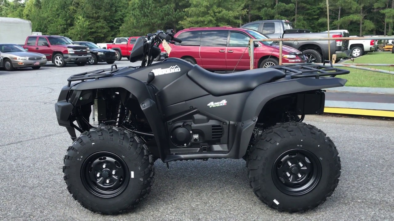 2018 Suzuki KingQuad 750AXi Power Steering Special Edition - YouTube