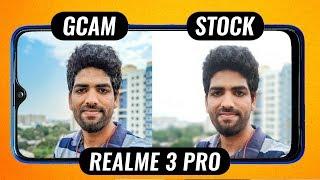 Realme 3 Pro Google Camera vs Stock Camera Comparison🔥