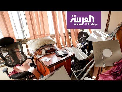 شاهد الأضرار التي خلفتها الطائرة الإسرائيلية في الضاحية الجنوبية لبيروت  - نشر قبل 3 ساعة