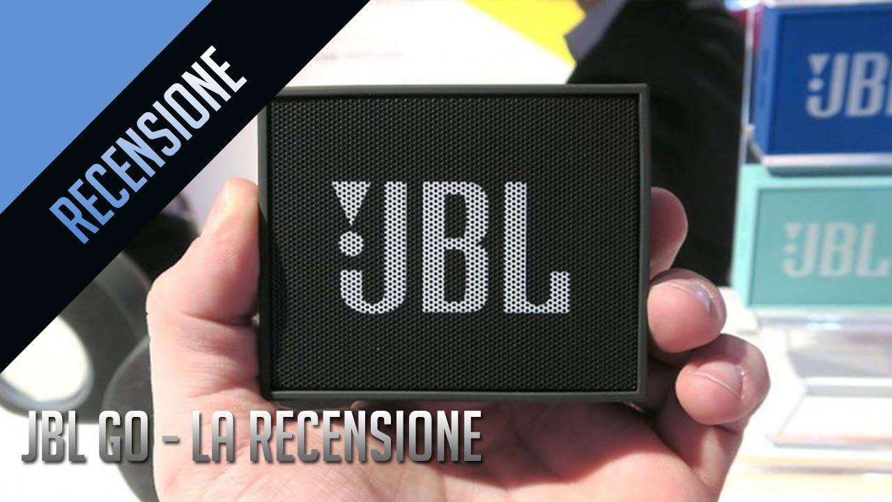 jbl go speakers la recensione youtube. Black Bedroom Furniture Sets. Home Design Ideas