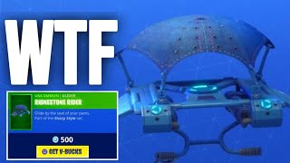 this glider has a secret feature... Fortnite ITEM SHOP [December 6] | Kodak wK