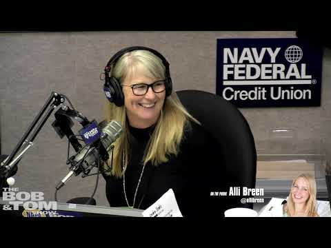 The BOB & TOM Show - Ask Alli Breen - Sliding in DMs