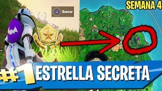 HIDDEN STAR FORTNITE SEASON X WEEK 4 Secret Star Season 10 Week 4