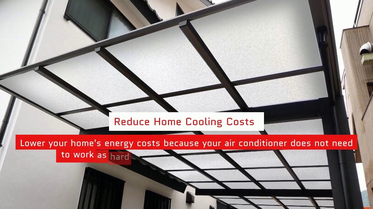 Benefits Of Silverroof Aluminium Awning Car Porch Youtube