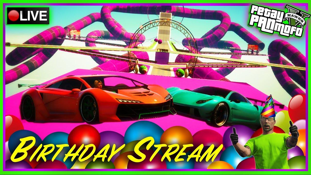 GTA Online Custom Races - Birthday Stream 2 (PC) GTA 5 Custom Stunt Race  Playlist
