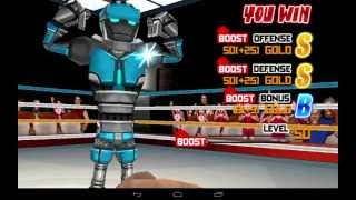 Gameplay of Punch hero on Galaxy note 10.1
