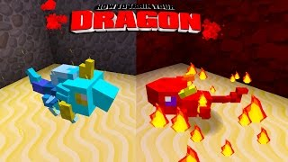 Minecraft - HOW TO TRAIN YOUR DRAGON - Blaze & Bolt! [49]