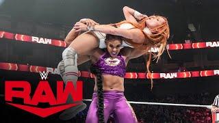 Bianca Belair & Sasha Banks vs. Becky Lynch & Charlotte Flair: Raw, Oct. 11, 2021