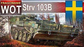 Strv 103B - to się nazywa obrona! - World of Tanks