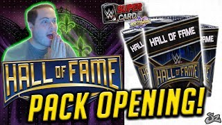 WRESTLEMANIA 34 HALL OF FAME PACK OPENING!! NXT RING DOMINATION! | WWE SuperCard S4