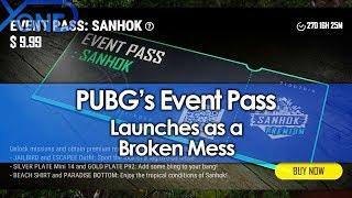 PUBG's Event Pass Launches as a Broken Mess
