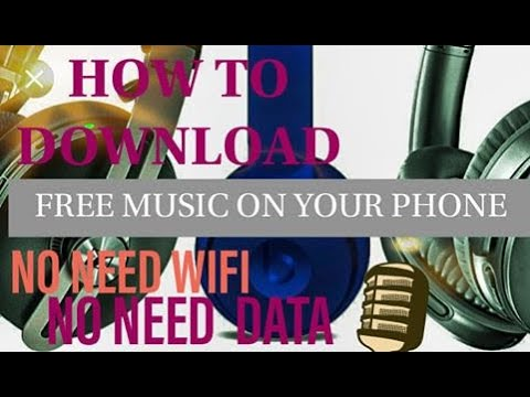 HOW TO DOWNLOAD FREE MUSIC ON YOUR ANDROID PHONE