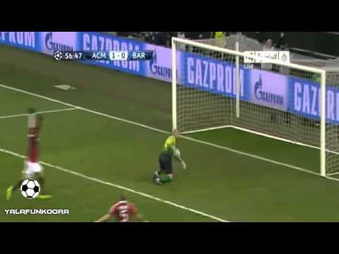 AC Milan vs Barcelona 2-0 all goals  [20/2/2013] HD
