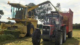 GRASSMEN TV - Massey 390T & Deutz AgroPrima 4.51 hauling grass