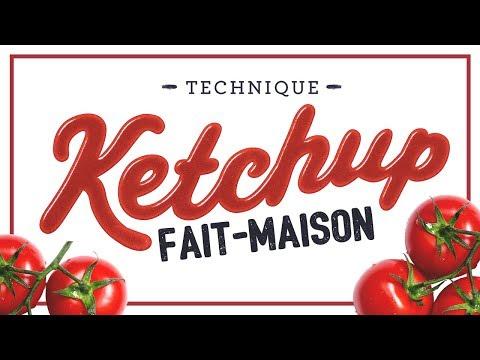 RECETTE :  le ketchup fait maison