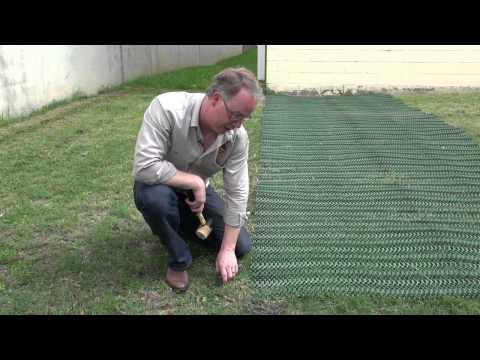 How to Install Grass Reinforcement Mesh