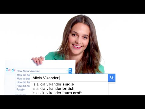 Tomb Raider's Alicia Vikander Answers the Web's Most Searched Questions | WIRED