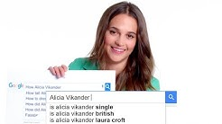 Alicia Vikander Answers the Web's Most Searched Questions | WIRED