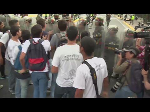 'Self-inflicted coup' sparks violent protests in Venezuela