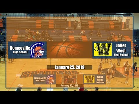 Romeoville High School Varsity Basketball January 25, 2019