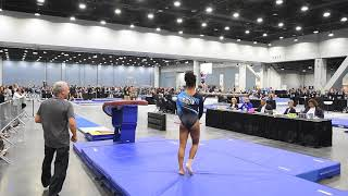 Soraya Hawthorne - Vault 2 - 2018 Women's Junior Olympic National Championships