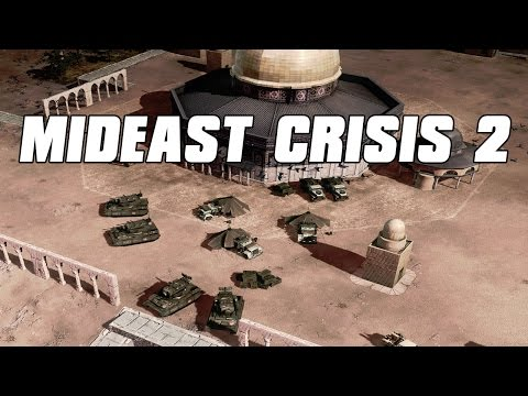 Mideast Crisis 2 Multiplayer Guardian Tank Spam - Command and Conquer 3 Mod