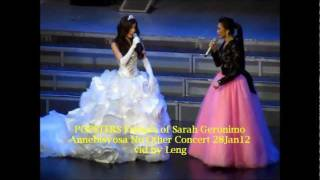 Repeat youtube video Sarah Geronimo & Anne Curtis - IDontWannaMissAThing @ Annebisyosa 01.28.12