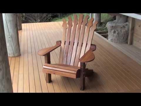 Adirondack Guitar Chair Build  YouTube