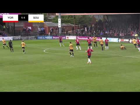 York City 1-1 Southport | Matchday Highlights
