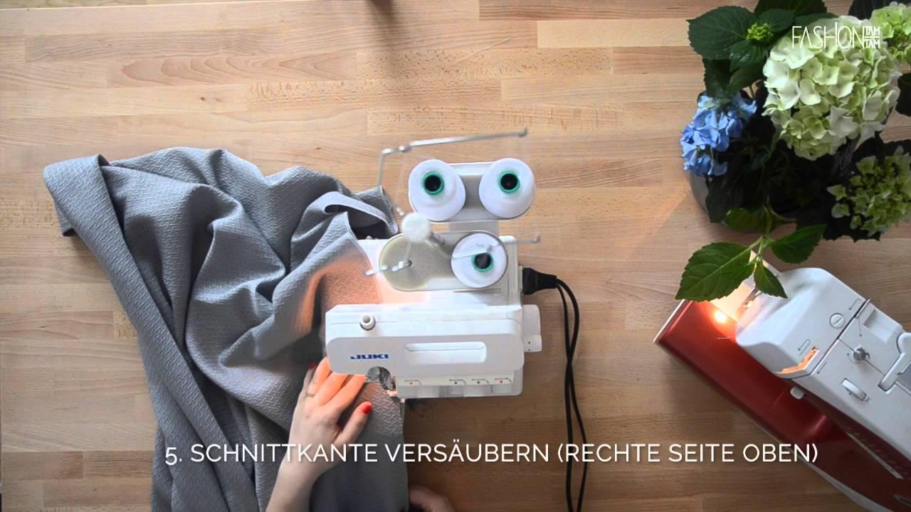 DIY: Vorhang/Gardinen nähen - YouTube