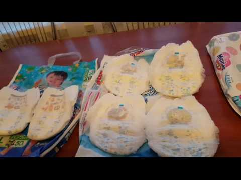Японские трусики-подгузники Moony, Merries, Goon