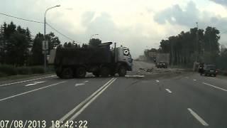 Страшная авария на Минском шоссе. Жесть