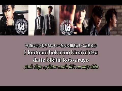 [Lyrics + Vietsub] When You Cry ( Super Junior Donghae & Eunhyuk)