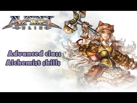 Avabel Online -  Alchemist Skills