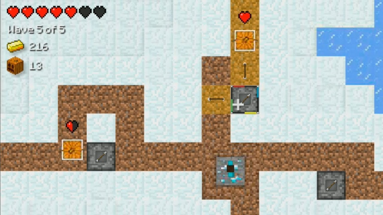 Minecraft Tower Defense Hacked:Overworld [READ DESCRIPTION ... |Play Minecraft Tower Defense Hacked