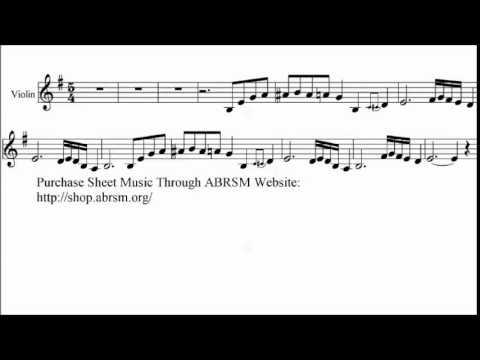 ABRSM Violin 2016-2019 Grade 4 C:1 C1 Desmond Take Five Sheet Music