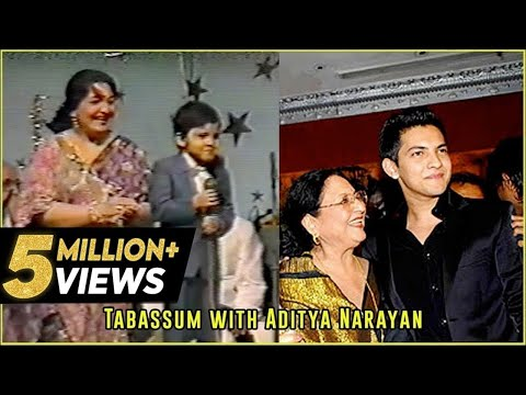 Udit Narayan's son, Aditya Narayan sings his father's song | Tabassum Talkies