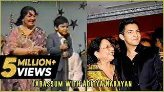 Udit Narayan's son, Aditya Narayan sings his father's song   Tabassum Talkies