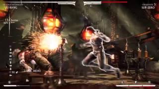 Liu kang fogo do dragão combos hardcore