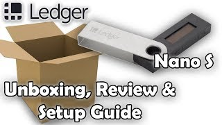 Goose Unboxes - Ledger Nano S Cryptocurrency Hardware Wallet - Unboxing & Setup