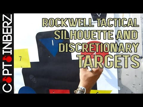 Rockwell Tactical Silhouette/Discretionary Rifle/Pistol Shooting Targets