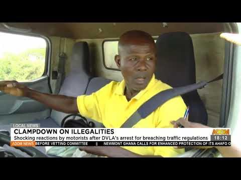 Clampdown on illegalities - Adom TV News (22-7-21)