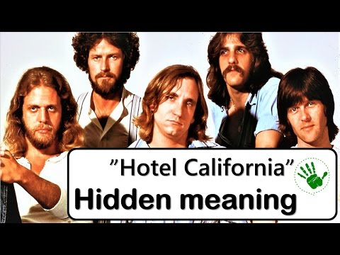 interpretations of the eagles hotel california Eagles - hotel california album reviews hotel california eagles asylum 1084 weeks charted: 107 certified platinum: 12/15/76 hotel california showcases both the best and worst tendencies of los angeles-situated 'hotel california' was our interpretation of the high life in los angeles.